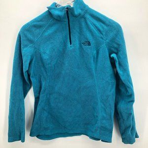 The North Face Womens Sweatshirt Blue Pullover M